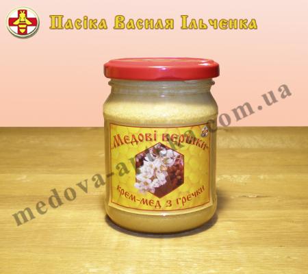 Крем-мед с Гречки и Разнотравья