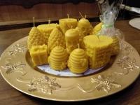 """Свічка """"Бджоли"""""""